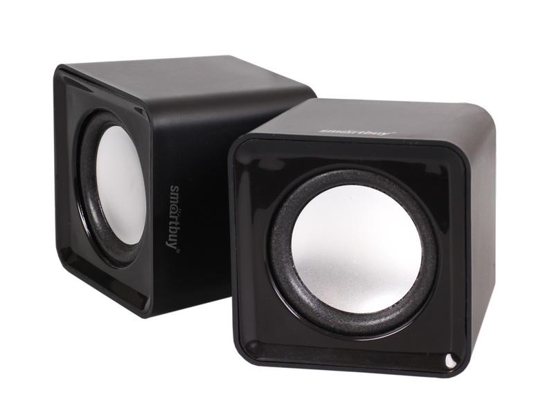 Акустическая система SmartBuy MINI. 2.0 4Вт USB, черный, арт.: а00610